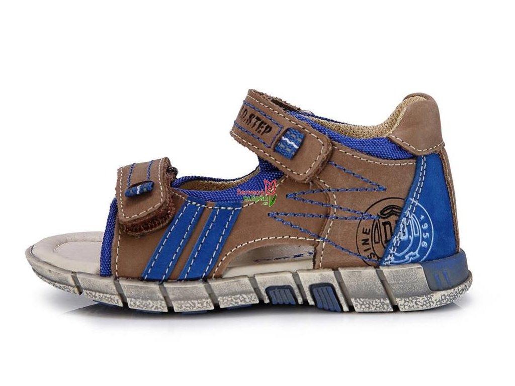 kožené sandálky D.D.step A039-17A sandály 3297