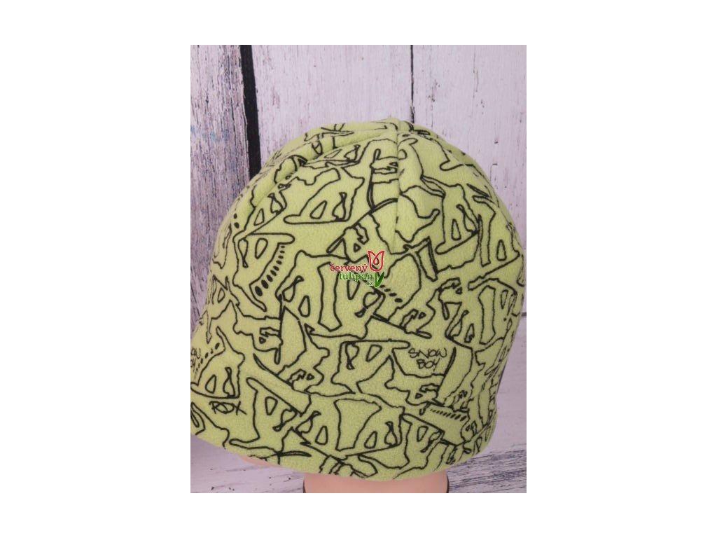 Čepice RDX 3472 zimní flísová jasně zelená - Červený Tulipán 43580156cb