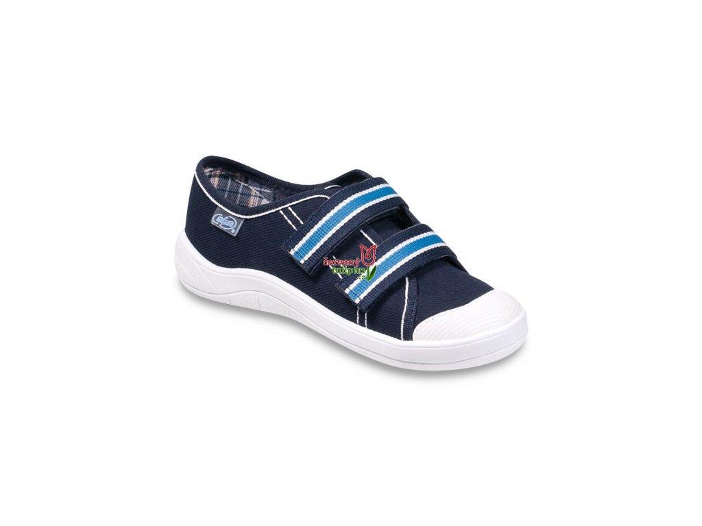 Tenisky / plátěnky / kecky Befado 672Y049 modré