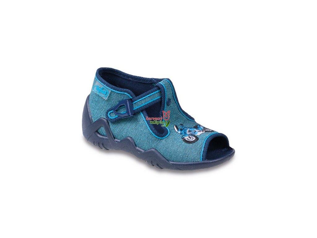Bačkůrky / papučky / sandálky Befado 217P073