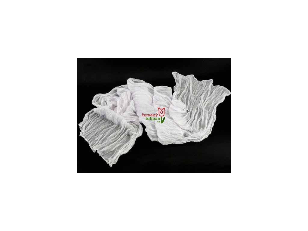 Šála / šátek / šálka bílá 2220