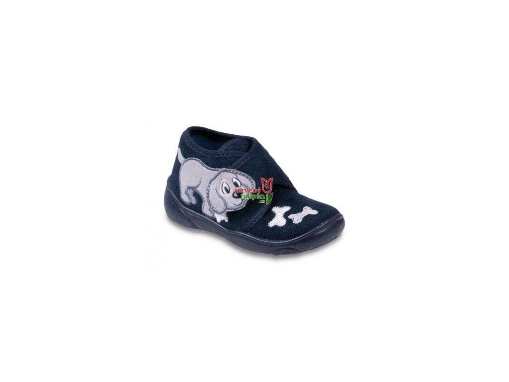 Bačkůrky / papučky / botičky Befado 392P007 pejsek