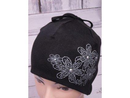 Čepice RDX 2242 černá s krytím uší