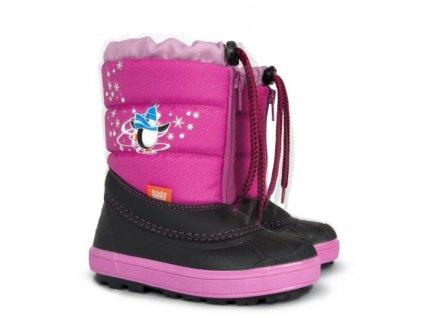 Sněhulky sněhule zimní boty Demar Kenny b růžové