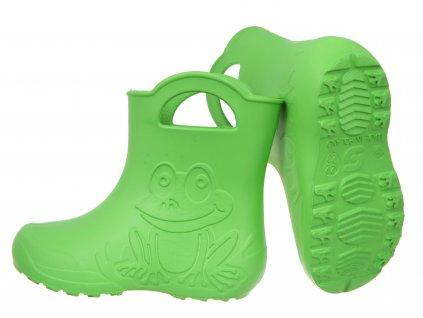 Cam zabka zelene