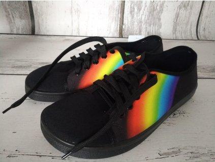 Tenisky plátěnky Anatomic footwear ALL IN A13 černé duhové