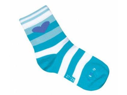 35891 1 001uvw041 24 26 ponozky befado modra vzor 996