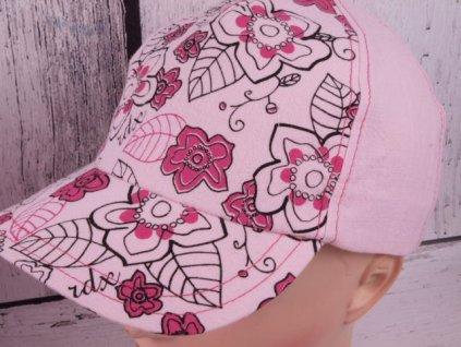 Kšiltovka RDX 7453 sv. růžová