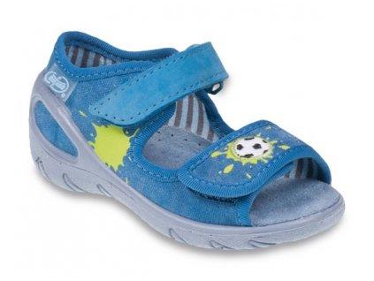 Sandálky Befado Sunny 433P010 s koženou stélkou