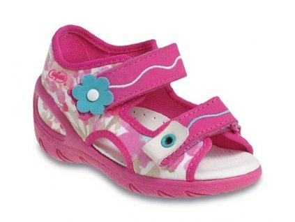 Sandálky Befado Sunny 065P093 065X093 s koženou stélkou