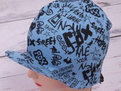 Čepice RDX 1064 ocelově modrá s kšiltem