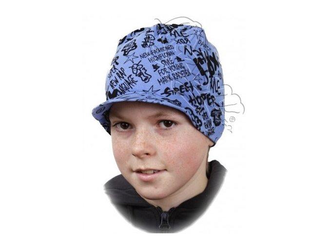 Čepice RDX 1064 modrá s kšiltem