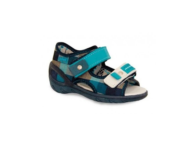 Sandálky Befado s koženou stélkou stélkou 090
