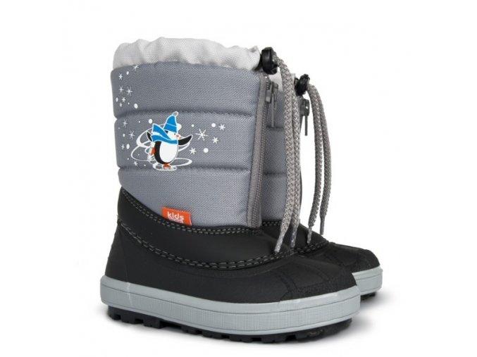 Sněhulky sněhule zimní boty Demar Kenny C stříbrné