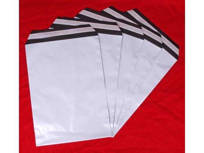 Plastové poštovní obálky vel. M (A4) 230x310 mm