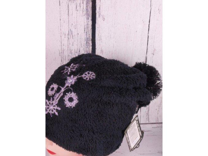 Čepice RDX 3147 zimní hebká skřítkovská černá