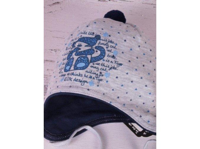 Čepice RDX 2426 šedá / modrá