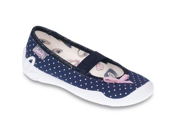 Bačkůrky papučky Befado Blanca 193X060