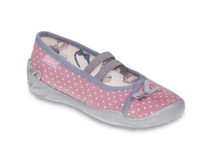 Bačkůrky balerínky papuče Befado Blanca 116X196