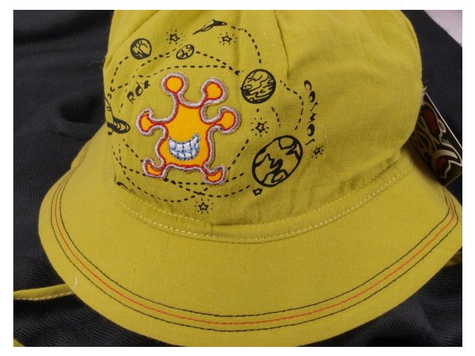 Klobouček klobouk RDX 7425 lehký vázací zelený