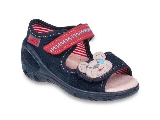 Sandálky Befado Sunny 433P016 s koženou stélkou