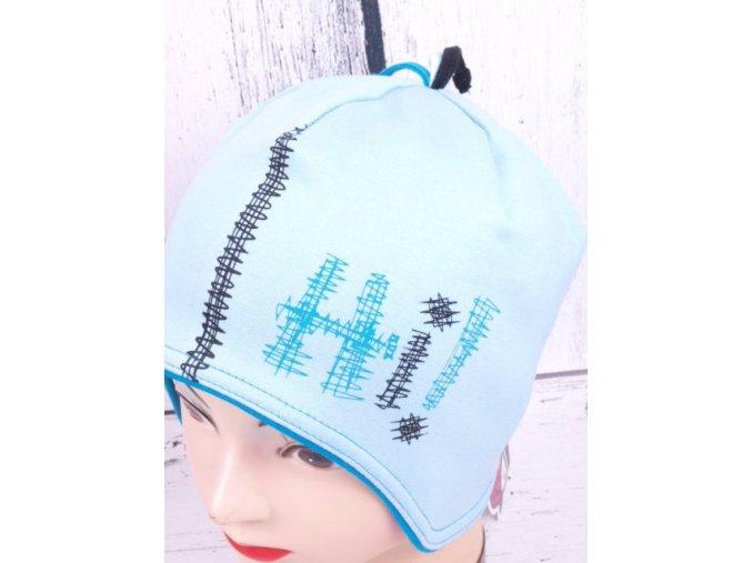 Čepice RDX 2705 sv. modrá s krytím uší