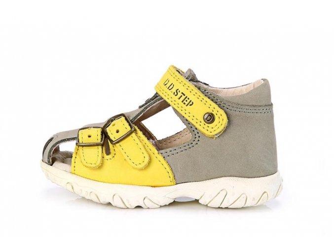 kožené sandálky D.D.step AC625-19A sandály 3296 unisex