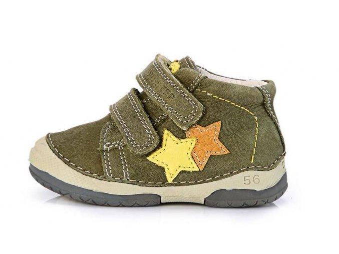 Celoroční kožené botičky obuv D.D.step 038-209 3134