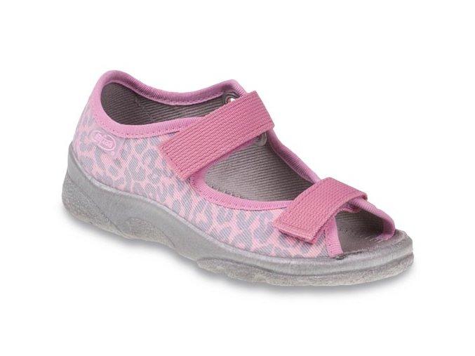 Bačkůrky sandálky Befado 969X092