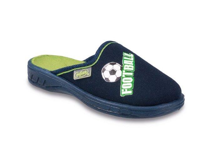 Pantofle / bačkory Befado Jogi 707Y379 fotbal