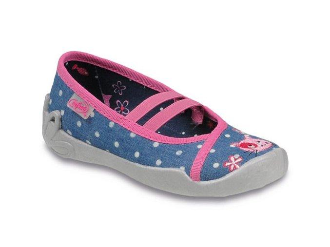 Bačkůrky / balerínky / papučky Befado Blanca 116X167