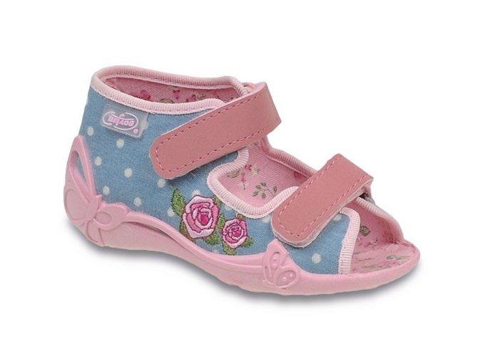 Bačkůrky / papučky / sandálky Befado 242P041