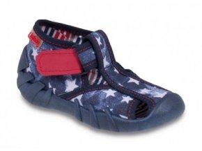 Bačkůrky / botičky / papučky Befado 190P052 polootevřené