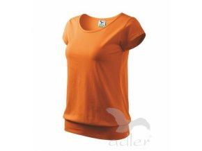 Triko / tričko dámské Adler City oranžové  882