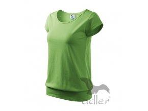 Triko tričko dámské Adler City zelené