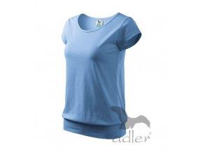 Triko tričko dámské Adler City sv. modré