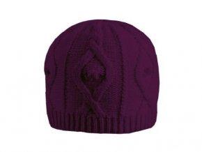 Čepice zimní dvouvrstvá fialová