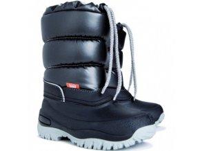 Mrazuvzdorné zimní boty / sněhule Demar Lucky M černé 111