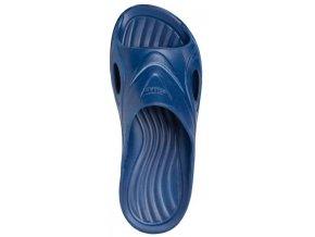 Pantofle / plážová obuv Demar tm. modré dětské
