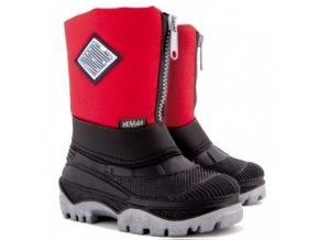 Zimní boty / sněhulky Demar Nordic červené