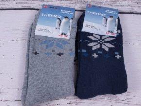 Ponožky HNĚDÉ pánské   dámské NOVIA bambus antibakteriální - Červený ... b6377398c2