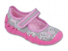 Pantofle plážové boty přezůvky Befado 159XY001 růžové - Červený Tulipán 45afda54bb8