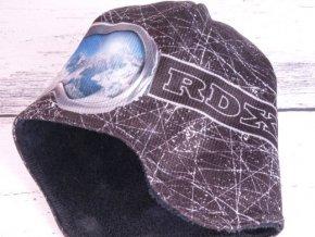 Čepice zimní RDX 3550 černá s krytím uší