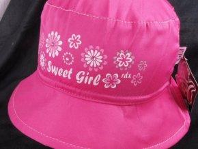 Klobouček klobouk RDX 7442 růžový