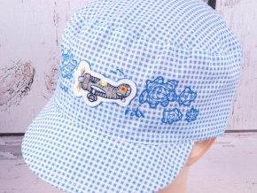 Kšiltovka RDX 7439 lehká letní modrá s letadlem