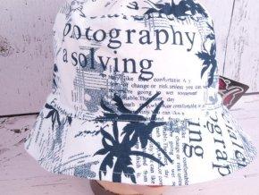 Klobouk klobouček RDX 7112 lehký bílý
