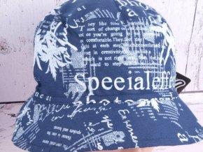 Klobouk klobouček RDX 7112 lehký tm. modrý