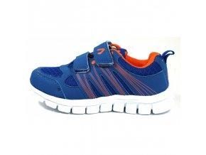 Tenisky Acer ultralehké modro oranžové 3362