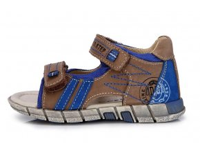 Sandálky JONAP 017M chlapecké modrozelené 3418 - Červený Tulipán d96faab9ac