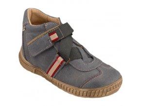 Celoroční kožené boty obuv Pegres kotníkové 1403 modré 3287